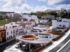 Plaza elevada en Aguilar de la Frontera